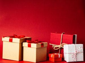 verschillende soorten kerstpakketten